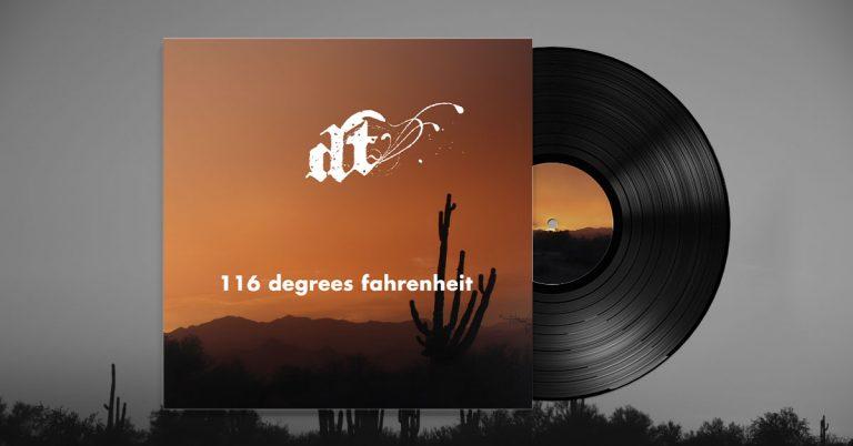 116 degrees