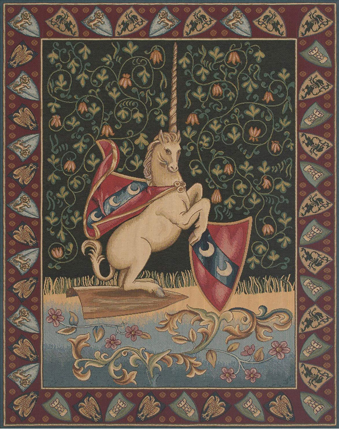 Unicorn Medieval By Alberto Passini
