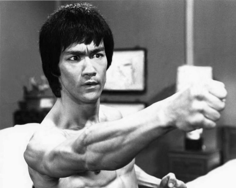 Bruce Lee from Enter the Dragon