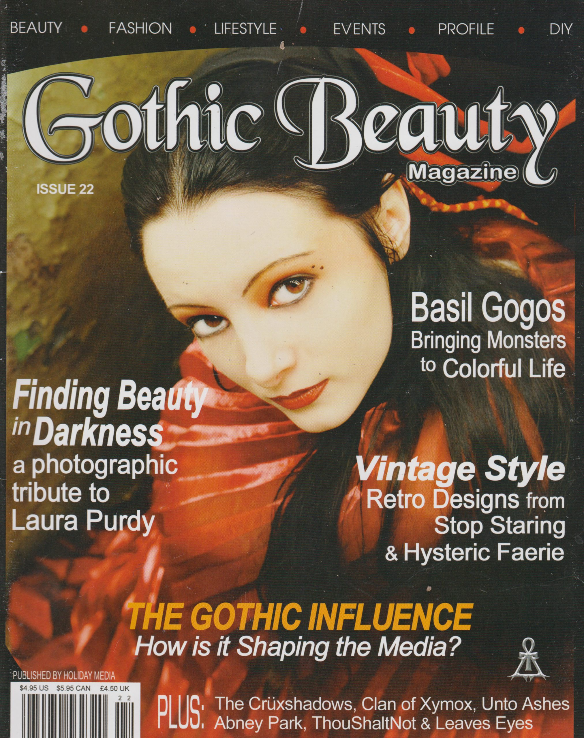 Gothic Beauty Issue 22