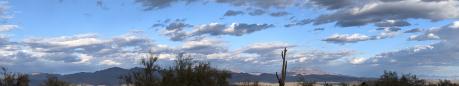 Rio Verde, AZ all-day timelapse, March 24, 2021