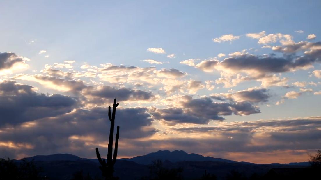 Rio Verde, AZ Sunrise – April 18, 2021