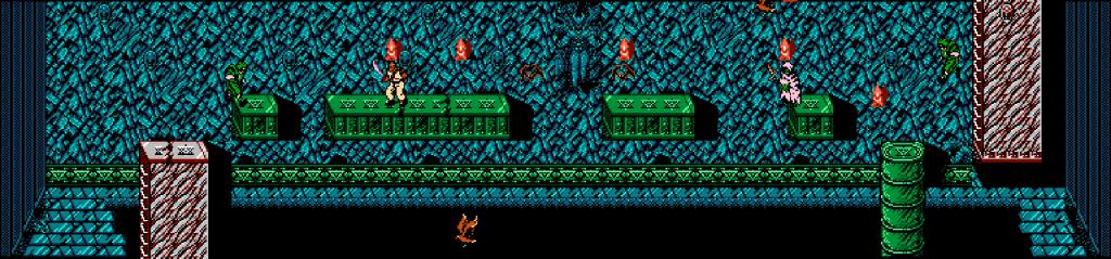 Ninja Gaiden's Bird Level