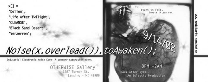 Memories, flyer from old show