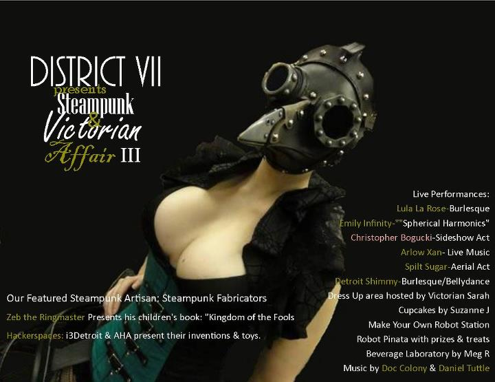 Twisted Toys & Mad Scientists: Victorian & Steampunk Affair